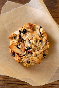 Greta granola cookies from kumquatblog.com